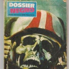 Cómics: DOSSIER NEGRO. Nº 6. IBERO MUNDIAL DE EDICIONES, 1968 (B/A49). Lote 213636173