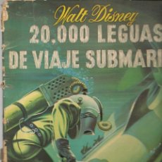 Cómics: 20.000 LEGUAS DE VIAJE SUBMARINO. WALT DISNEY. COLECCIÓN CUCAÑA, Nº 16.EDICIONES RECREATIVAS (B/A49). Lote 213636505