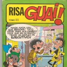 Cómics: RISA GUAI!. TOMO 11. TAPA DURA CON 5 CUADERNILLOS. VER FOTOS. (B/A49). Lote 213637718
