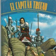 Cómics: EL CAPITAN TRUENO. VICTOR MORA / FUENTES MAN. LA HORDA DE AKBAR - LAS RUINAS DE TINTAGEL. (B/A49). Lote 213638578