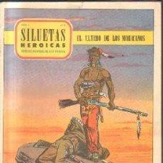Cómics: SILUETAS HEROICAS. AÑO 1. Nº 8. EL ULTIMO DE LOS MOHICANOS. A-COMIC-5656. Lote 213645091