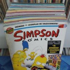 Fumetti: LOS SIMPSON. SIMPSON CÓMICS. PRECIOSO LOTE DE 47 CÓMICS. BONGO. 1993. Lote 241841920