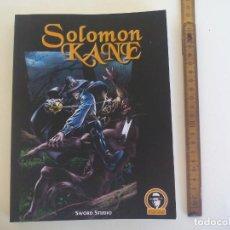 Comics: SALOMON KANE. SWORD STUDIO. VI JORNADAS DE COMIC DE VELEZ-MALAGA. 320 PÁGINAS. LEER DESCRIPCIÓN.. Lote 213754917