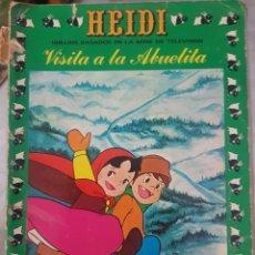 Cómics: HEIDI - VISITA A LA ABUELITA - COMIC LIBRO NÚMERO 3 - 1976. Lote 213814585