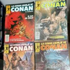 Cómics: 4 LOTE DE CONAN. Lote 213852086