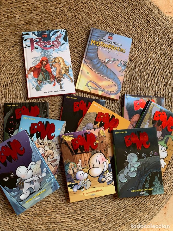 BONE DE JEFF SMITH COLECCION COMPLETA TAPA DURA + 2 ESPECIALES TOTAL 11 VOLUMENES (Tebeos y Comics - Comics otras Editoriales Actuales)