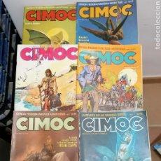 Cómics: LOTE 4 CÓMICS CIMOC. Lote 213885327