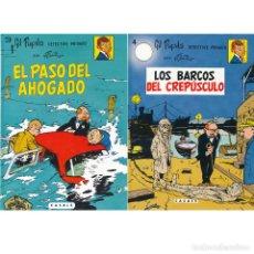 Cómics: GIL PUPILA. LOTE. 3. EL PASO DEL AHOGADO + 4. LOS BARCOS DEL CREPUSCULO. CASALS. Lote 213912161