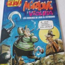 Cómics: COMICS MIRLOVE, VIOLETA LOS CRÍMENES DE JACK EL ESTIBADOR. Lote 213948897