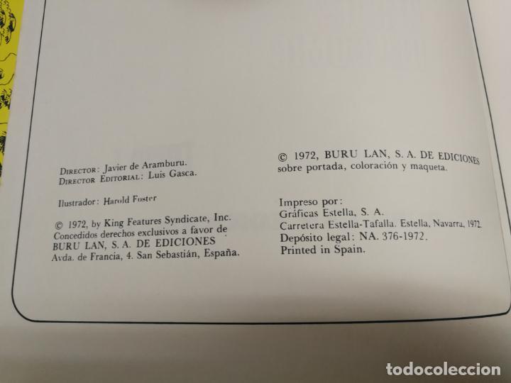 Cómics: EL PRINCIPE VALIENTE. EN TIEMPOS DEL REY ARTURO. HAROLD FOSTER. TOMO 1. BURULAN - Foto 2 - 265800699
