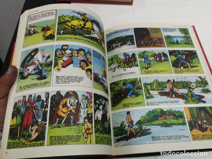 Cómics: EL PRINCIPE VALIENTE. EN TIEMPOS DEL REY ARTURO. HAROLD FOSTER. TOMO 1. BURULAN - Foto 5 - 265800699