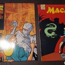 Cómics: COMICS - LOTE ALBUMES - MIQUE BELTRAN - LA PIRAMIDE DE CRISTAL - AVENTURAS DE CLEOPATRA - COMPLOT. Lote 214128405