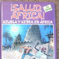 Cómics: KEUBLA Y KEBRA EN AFRICA - JANO - DRAGON COMICS. Lote 214186461