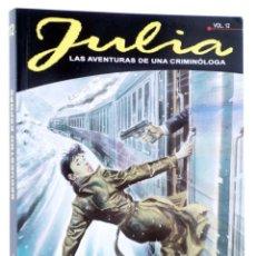 Cómics: JULIA LAS AVENTURAS DE UNA CRIMINÓLOGA 12. SECUESTRO EXPRÉS (BERARDI) ALETA, 2016. OFRT ANTES 13,95E. Lote 269131588