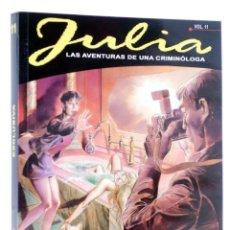 Cómics: JULIA, LAS AVENTURAS DE UNA CRIMINÓLOGA 11. EXCLUSIVA (BERARDI) ALETA, 2015. OFRT ANTES 13,95E. Lote 269131568
