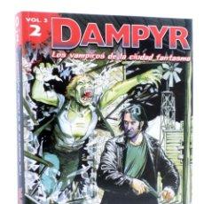 Cómics: DAMPYR VOL. 3 Nº 2. LOS VAMPIROS DE LA CIUDAD FANTASMA (BOSELLI) ALETA, 2013. OFRT ANTES 15,95E. Lote 214300696