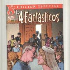 Cómics: LOS 4 FANTASTICOS NUMERO 08: HACIENDO SOMBRA. Lote 214427256