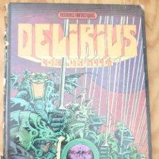 Cómics: DELIRIUS - DRUILLET (EN FRANCÉS). Lote 214551496