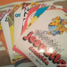 Cómics: 8 NUMEROS DE LA COLECCION PENDONES DEL HUMOR - JUEVES - COMIC. Lote 214558813