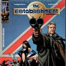 Fumetti: THE ESTABLISHMENT. WORLD COMICS 2003. Nº 1. Lote 214633866