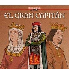 Cómics: CÓMICS. EL GRAN CAPITAN - JUAN LUIS RINCON/MIGUEL GOMEZ ANDREA (CARTONÉ). Lote 277456033