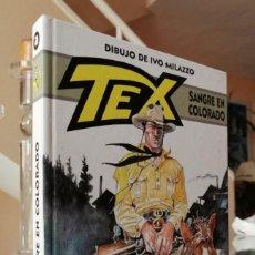 Cómics: TEX. SANGRE EN COLORADO (CLAUDIO NIZZI E IVO MILAZZO) ALETA 2013. Lote 276996118