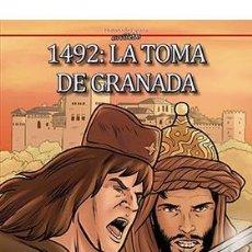 Cómics: CÓMICS. 1492. LA TOMA DE GRANADA - ESTER SALGUERO/CARLOS DIAZ CORREIA/ERNESTO LOVERA (CARTONÉ). Lote 277456118