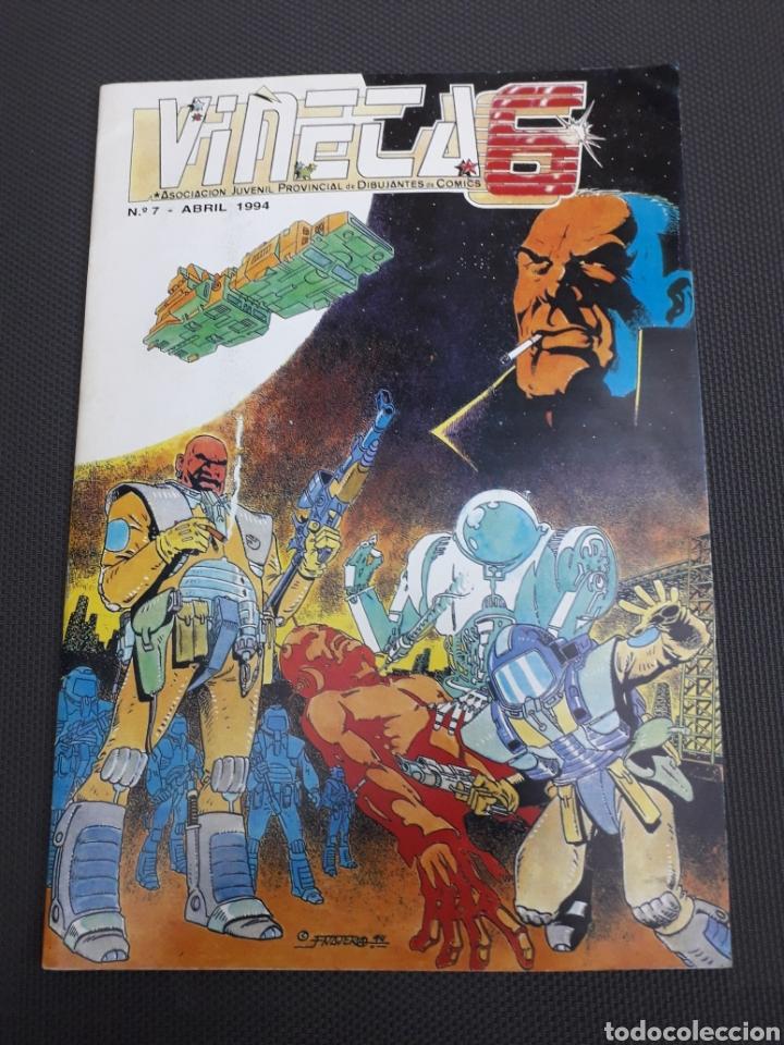 FANZINE VIÑETAS NUM 7. 48 PAG (Tebeos y Comics Pendientes de Clasificar)