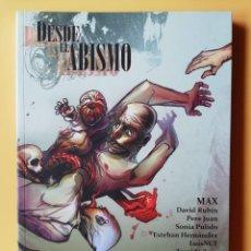 Cómics: DESDE EL ABISMO. HISTORIAS QUE MIRAN NUESTROS HORRORES MÁS PROFUNDOS - MAX. DAVID RUBÍN. PERE JOAN.. Lote 215143617