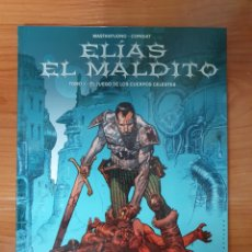 Cómics: LOTE 3 TOMOS ELIAS EL MALDITO NINTH EDICIONES. Lote 215270391