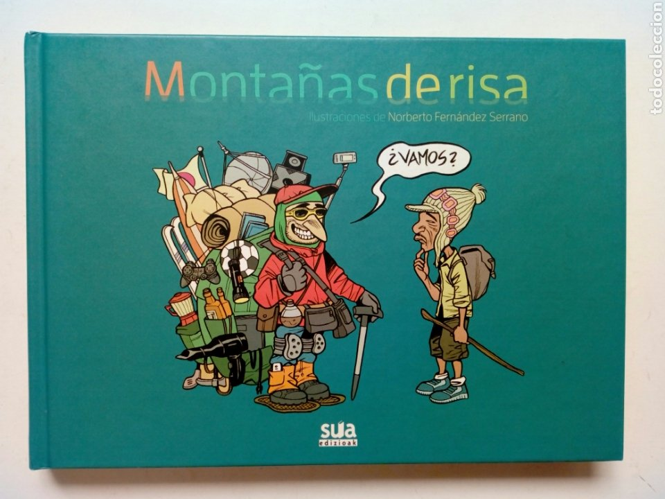 MONTAÑAS DE RISA (NORBERTO FERNÁNDEZ SERRANO) - SUA EDIZIOAK, 2015 - (Tebeos y Comics - Comics otras Editoriales Actuales)