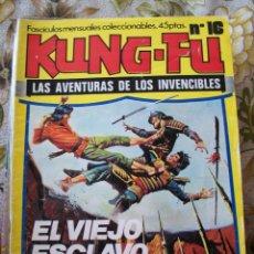 Cómics: KUNG FU , LAS AVENTURAS DE LOS INVENCIBLES. Lote 215302032