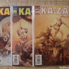 """Fumetti: KA-ZAR EL SALVAJE N°1, 2, 3 (""""LINEA EXCELSIOR"""") -FORUM-. COLECCIÓN COMPLETA. Lote 215305545"""