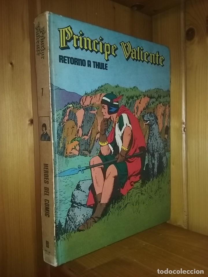 PRINCIPE VALIENTE 7 RETORNO A THULE, HEROES DEL COMIC, BURU LAN EDICIONES, 1973 (Tebeos y Comics - Buru-Lan - Principe Valiente)