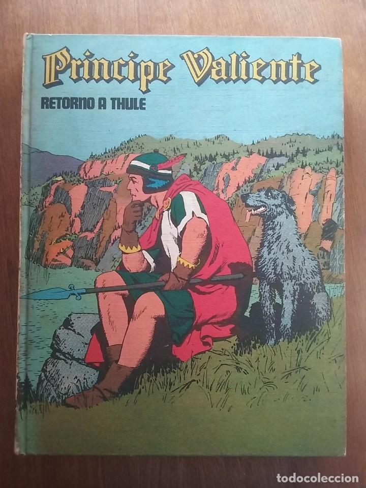 Cómics: PRINCIPE VALIENTE 7 RETORNO A THULE, HEROES DEL COMIC, BURU LAN EDICIONES, 1973 - Foto 2 - 215534153