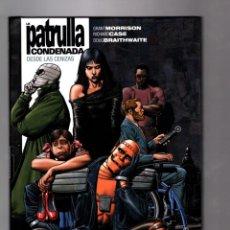 Cómics: LA PATRULLA CONDENADA 1 DESDE LAS CENIZAS - ECC / DC BLACK LABEL VERTIGO / BIBLIOTECA GRANT MORRISON. Lote 190378986