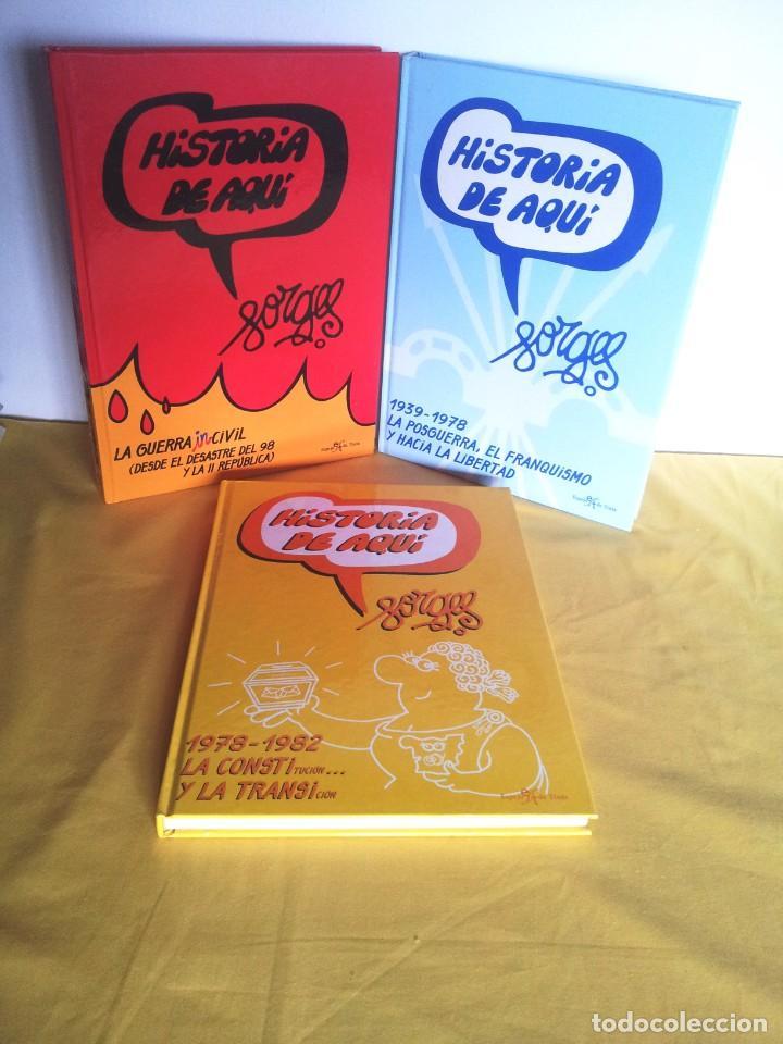 HISTORIA DE AQUI POR FORGES - 3 TOMOS - EDITORIAL ESPEJO DE TINTA 2006/2007 (Tebeos y Comics Pendientes de Clasificar)