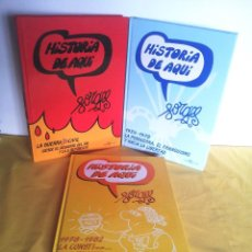 Cómics: HISTORIA DE AQUI POR FORGES - 3 TOMOS - EDITORIAL ESPEJO DE TINTA 2006/2007. Lote 215653571