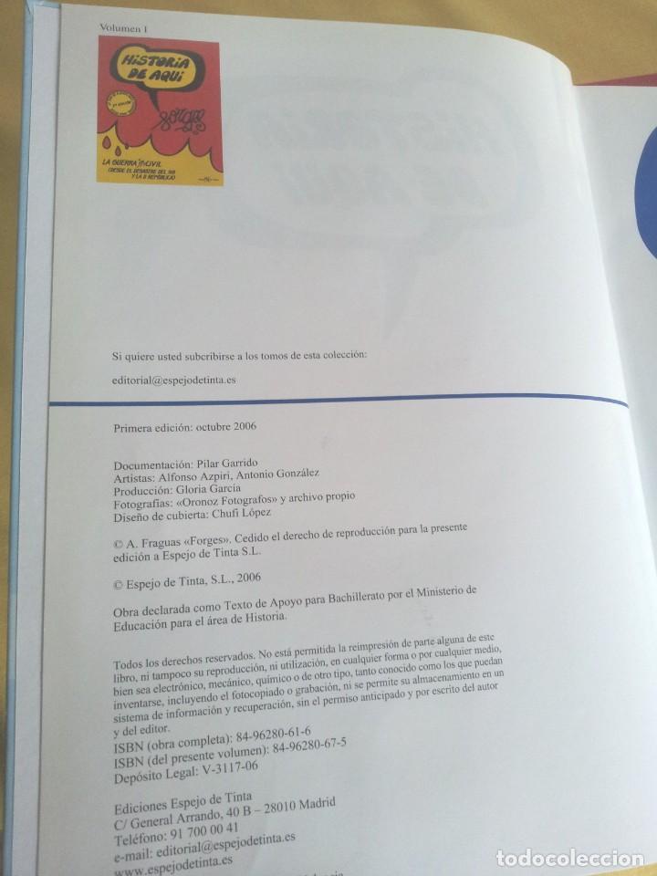 Cómics: HISTORIA DE AQUI POR FORGES - 3 TOMOS - EDITORIAL ESPEJO DE TINTA 2006/2007 - Foto 10 - 215653571