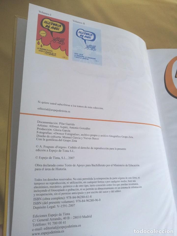 Cómics: HISTORIA DE AQUI POR FORGES - 3 TOMOS - EDITORIAL ESPEJO DE TINTA 2006/2007 - Foto 16 - 215653571