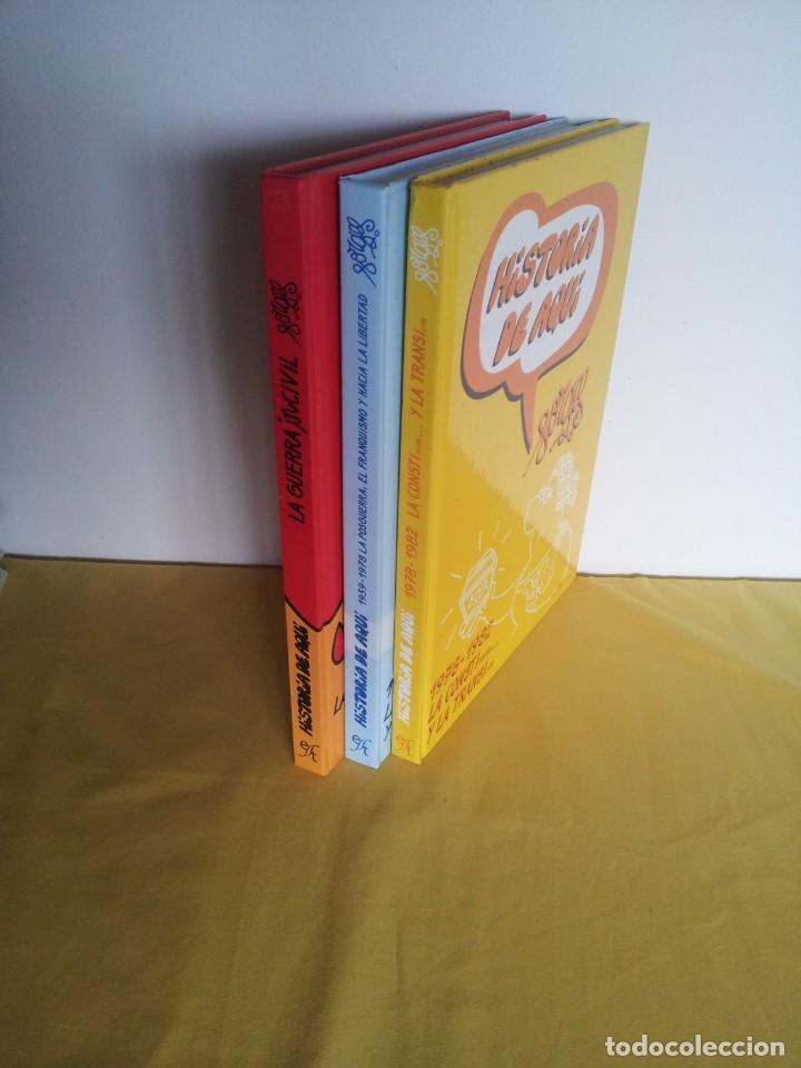 Cómics: HISTORIA DE AQUI POR FORGES - 3 TOMOS - EDITORIAL ESPEJO DE TINTA 2006/2007 - Foto 20 - 215653571