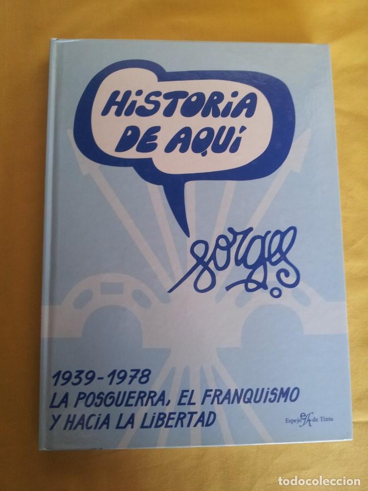 Cómics: HISTORIA DE AQUI POR FORGES - 3 TOMOS - EDITORIAL ESPEJO DE TINTA 2006/2007 - Foto 8 - 215653571