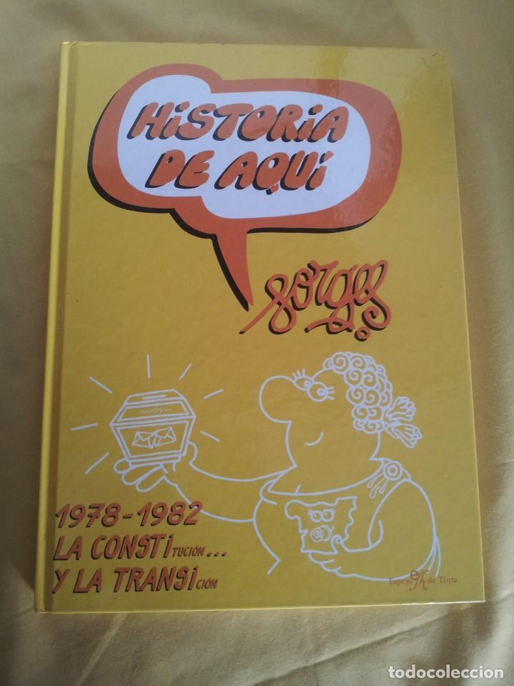 Cómics: HISTORIA DE AQUI POR FORGES - 3 TOMOS - EDITORIAL ESPEJO DE TINTA 2006/2007 - Foto 14 - 215653571