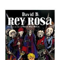 Cómics: CÓMICS. REY ROSA - DAVID B. (CARTONÉ). Lote 235081415