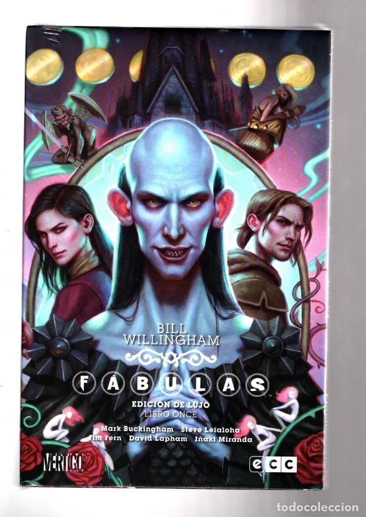 FABULAS 11 - ECC / DC VERTIGO / EDICIÓN DE LUJO / TAPA DURA / BILL WILLINGHAM (Tebeos y Comics - Comics otras Editoriales Actuales)