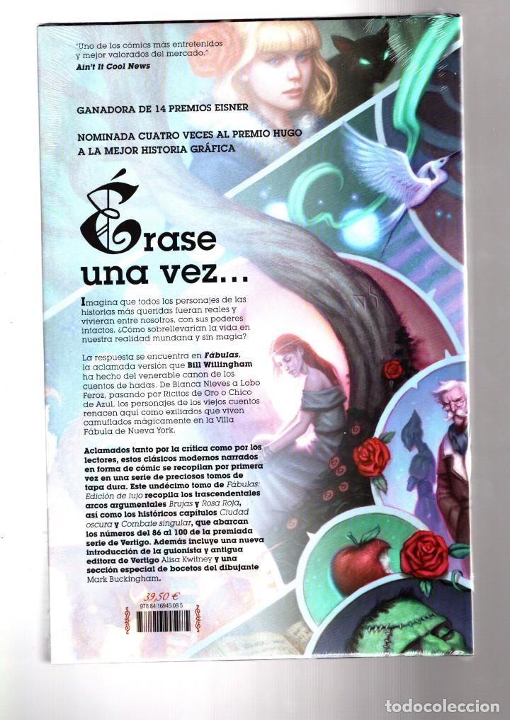 Cómics: FABULAS 11 - ECC / DC VERTIGO / EDICIÓN DE LUJO / TAPA DURA / BILL WILLINGHAM - Foto 2 - 189108230