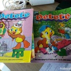 Cómics: PETETE, 19 COMICS, 1982, MARCOS IBERICA COMO NUEVOS. Lote 215829842