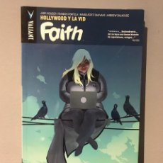 Cómics: 1º EDICIÓN 2018 - VOL 1 - LIBRO VALIANT FAITH HOLLYWOOD Y LA VID. Lote 215836627