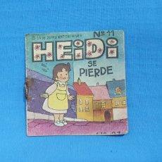 Cómics: MINI CUENTO - HEIDI SE PIERDE, N° 11 - 1976 ZUIYO ENTERPRISES - PHOSKITOS. Lote 215875123