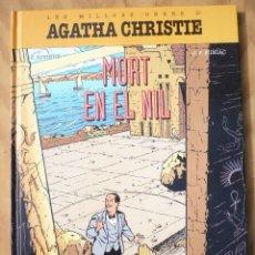 Cómics: MORT EN EL NIL AGATHA CHRISTIE. Lote 215998548